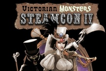 T-shirts / The official t-shirt designs from past Steamcons.   / by Steamcon