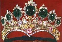 Jewelry - Crowns, Tiaras and Royal Jewels / Gorgeous Crowns, Tiaras and other royal Jewels / by Mickie McCord