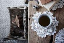 Min kopp med te.