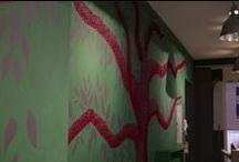 Green Attitude // Installation de l'exposition / Exposition de fin d'année 2013-2014