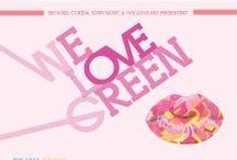 We Love Green / Réalisation d'affiches pour le festival We Love Green
