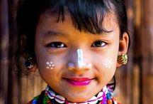 Caras del mundo / Los rostros de la humanidad.