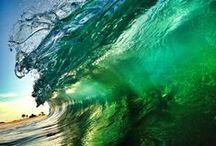 Earth & Sky - Ocean Waves / by Mickie McCord