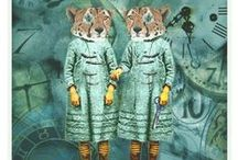 Collage, mixed media / my art #collage #art #mixedmedia #mixed-media