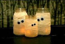 Halloween Crafts / From cute to scary, here are some craft pins to make your Halloween home festive.