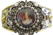Jewelry - Georgian, 1714-1837 / Georgian Era jewelry dating from 1714-1837 / by Mickie McCord