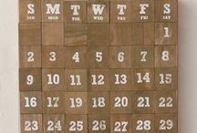 Calendar / Innovative perpetual calendars for 2015, 2016, 2017... forever!