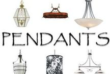 Pendant Lights / From chandeliers and mini-pendants, some ideas to consider.