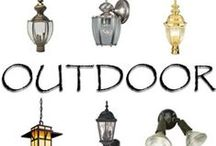 Outdoor Lights / Some ideas for outdoor lighting.