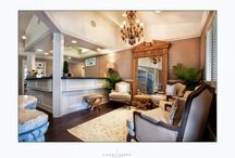 Office Design/Decor / Dr. Cecil Lamberton, at Cosmetic Dentistry of Napa, is one of only two cosmetic dentists accredited by the American Academy Of Cosmetic Dentistry (AACD) in Napa, CA. His passion is doing smile makeovers for patients using deep teeth whitening, cosmetic bonding and tooth colored composite restorations, porcelain crowns for natural teeth and implants, as well as porcelain veneers. He has also recently remodeled his practice, going for a Restoration Hardware look, especially in the reception area.