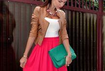 Lookbook / Ideas, styles, dress, skirt, manteau