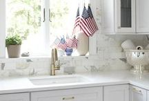All-American Cambria Quartz / Home of the Free because of the Brave: In Honor of Memorial Day, We Are Proud to Showcase our All-American Brand Cambria Quartz!