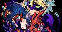 Adrien y Marinette / Imágenes de Chat Noir y Ladybug ❤  ;D