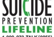 Suicide Prevention and Awareness / Prevention of Suicide and Suicide Awareness / by Bipolar Bandit & Mental Health