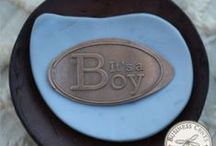 Birth Announcements / Birth Announcements Made On Pennies