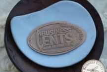 Custom Pennies / Custom made pressed pennies by Business Cents - Make yours today!