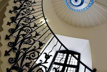 Spiral staircases / One step at a time and into the light