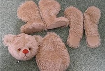 """To make a teddy bear / Disclaimer: These are just """"PINS"""". I don't claim copyright or ownership of any content on this board."""