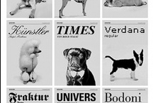 Typography Dogs