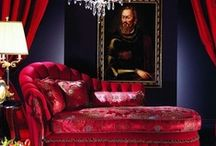 Bordello Style / Imagine a whorehouse in during the gold rush. Plush, opulent, decadent and sensual...