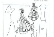 Patterns / patronen voor miniatuur kleding