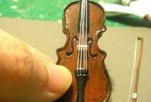 Miniature musical instruments ... how to make