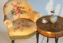 Miniature furniture ... how to make / tutorials voor het maken van minatuur meubels