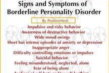 Borderline Personality Disorder (BPD) / by Bipolar Bandit & Mental Health