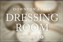 Downton Abbey Dressing Room / Turn-of-the-century looks inspired by the fashion of Downton Abbey's lovely ladies. Watch on Masterpiece PBS.