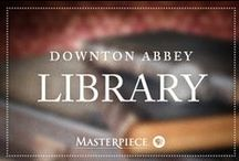 Downton Abbey Library / Timeless classics and must-have pieces for the perfect study, as seen on Downton Abbey on Masterpiece PBS.