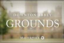 Downton Abbey Grounds / A visit to the English countryside so special to Downton Abbey, as seen on Masterpiece PBS. Take part in a bit of hunting, riding, and playing with the dogs.