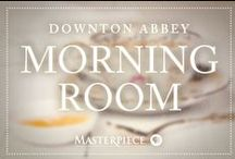 Downton Abbey Morning Room / Keep on top of your correspondence with beautiful calligraphy and typography, inspired by Downton Abbey on Masterpiece PBS.
