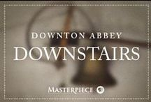 Downton Abbey Downstairs / Keep the house tidy with cleaning tips even Mrs. Hughes would approve of. Feel inspired by beautiful spaces and organization ideas. | Downton Abbey, as seen on Masterpiece PBS.