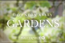 Downton Abbey Gardens / Gardening tips and floral ideas inspired by the beloved English gardens of Downton Abbey, as seen on Masterpiece PBS.
