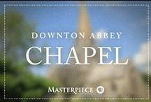 "Downton Abbey Chapel / Saying ""I do"" with a Downton Abbey flair, inspired by the show on Masterpiece PBS. Turn-of-the-century wedding inspiration relevant to the modern bride."