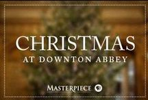 Christmas at Downton Abbey / Holiday decor, recipes, and party ideas fit for the lords and ladies of Downton Abbey, as seen on Masterpiece PBS.