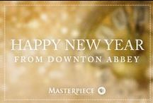 Happy New Year From Downton Abbey / Celebrate New Year's Eve with decor, treats and party ideas as fabulous as any Downton Abbey affair. | Masterpiece PBS