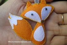"""Crafts - Fox / Disclaimer: These are just """"PINS"""". I don't claim copyright or ownership of any content on this board."""