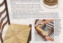 chair weaving / caning / rushing