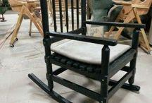 ahşap sallanan sandalye imalati / Ahşap sallanan sandalye imalatı