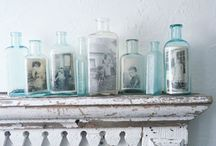 Display and organisation / Beautiful way to storage pretty things. Display your treasures with love and creative twist