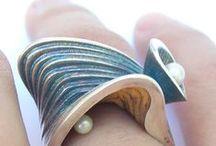 Rings / Art jewellery, modern contemporary and creative jewellery, silversmith, designer jewellery