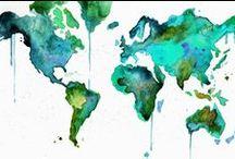 Watetcolors and paintings / Beautiful artworks, watercolors and paintings