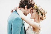 Bohemian weddings / Rustic, whimsical and natural wedding style, Boho brides and beautiful weddings decor ideas, wedding photography.