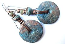 Primitive and tribal jewellery / Rustic, wild and rough beautiful Jewellery. Primitive Jewellery inspired by ethnic and archeology.