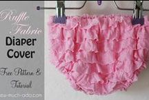 Newborn & Toddlers - Diaper covers, Rompers, Pants and skirts