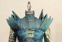 Art in Fashion / wearable art, couture fashion, runway art, unusual dresses