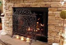 fireplace ideas / by Jane Hawkinson