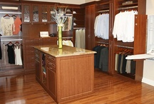 Walk-in Closets / Let a professional Closettec designer create a custom closet configuration for your wardrobe needs and see how wasted space can be transformed into an efficient storage system