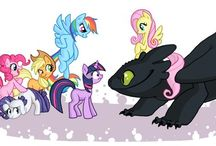 My little pony: friendship is magic / by Morgan Watson